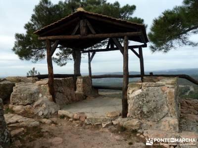 Pinares, Riscos y Atalayas; imagenes de senderismo; excursiones de un dia